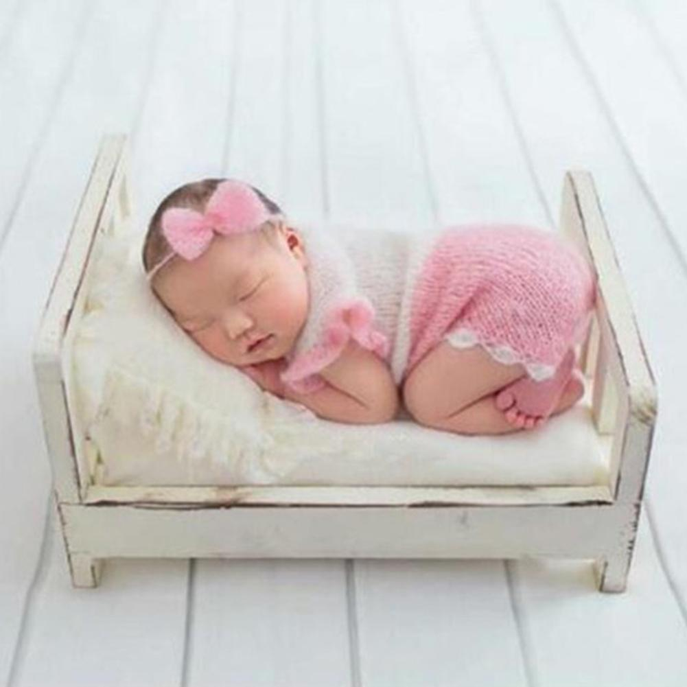 Newborn Photography Prop Cot Wooden Bed Newborn Props Bed Posing Newborn Photography Props Crib Prop For Photo Shoot Posing Sofa
