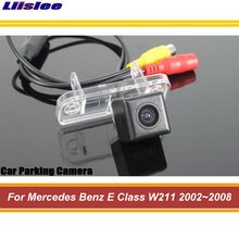 цена на Car Reverse Rearview Parking Camera For Mercedes Benz E Class W211 2002~2008 Rear Back View Reversing Camera HD CCD Waterproof