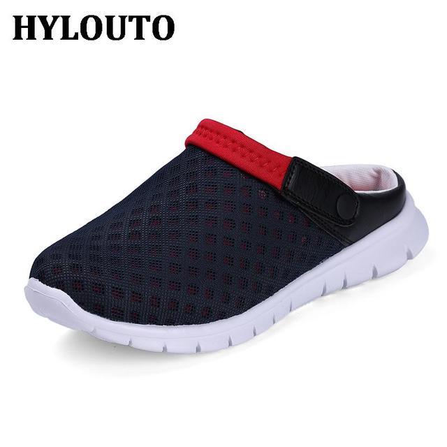 Amantes Sandálias de Verão Sandálias Femininas Chinelos de Praia Sapatos Casuais Respirável Mulheres Sapato Confortável E Leve 927