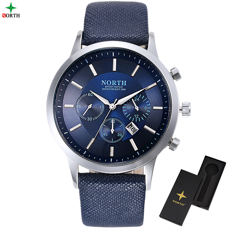 Men Watches Fashion Waterproof Wristwatch Quartz 2017 Top Brand Luxury Casual Leather Male Clock Round Analog Sport Watches Men
