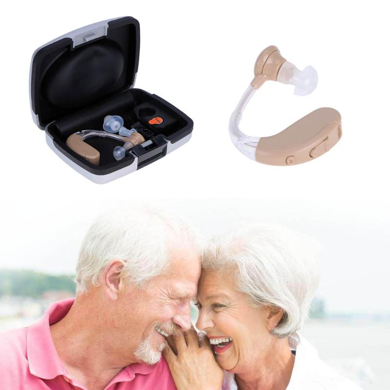 Portable Listening Mini Digital Rechargeable Hearing Aid Ear Sound Amplifier In the Ear Tone Volume Adjustable Ear Care With Box 31