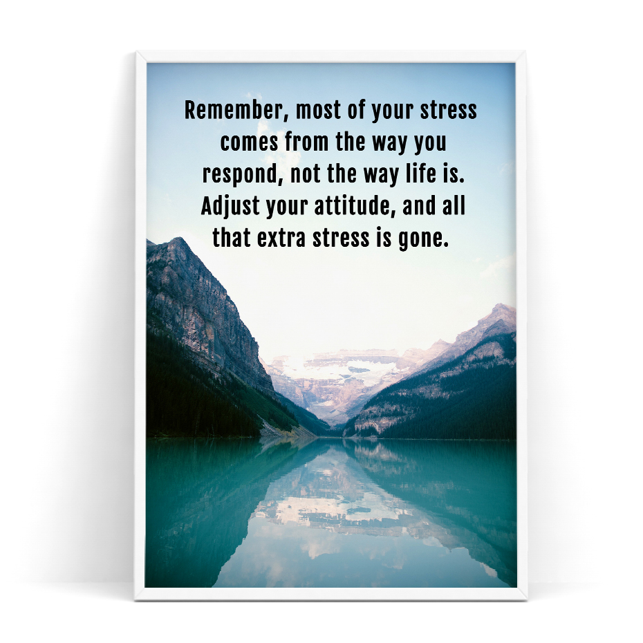 Life Poster Quote Inspirational Motivational Positive Picture Wall Art Life
