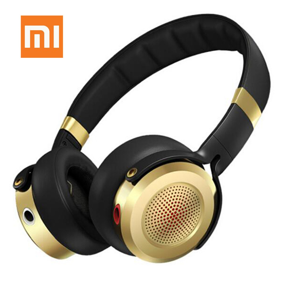 Original Xiaomi Over-Ear Headphones - 2nd Generation Noise Canceling Earphones Voice Control With Built-In Mic Music Headphones original superlux hd660 professional monitoring music headphones noise canceling clear sound soft earmuff