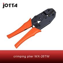 Купить с кэшбэком WX-26TW crimping tool crimping plier 2 multi tool tools hands Ratchet Crimping Plier (European Style)