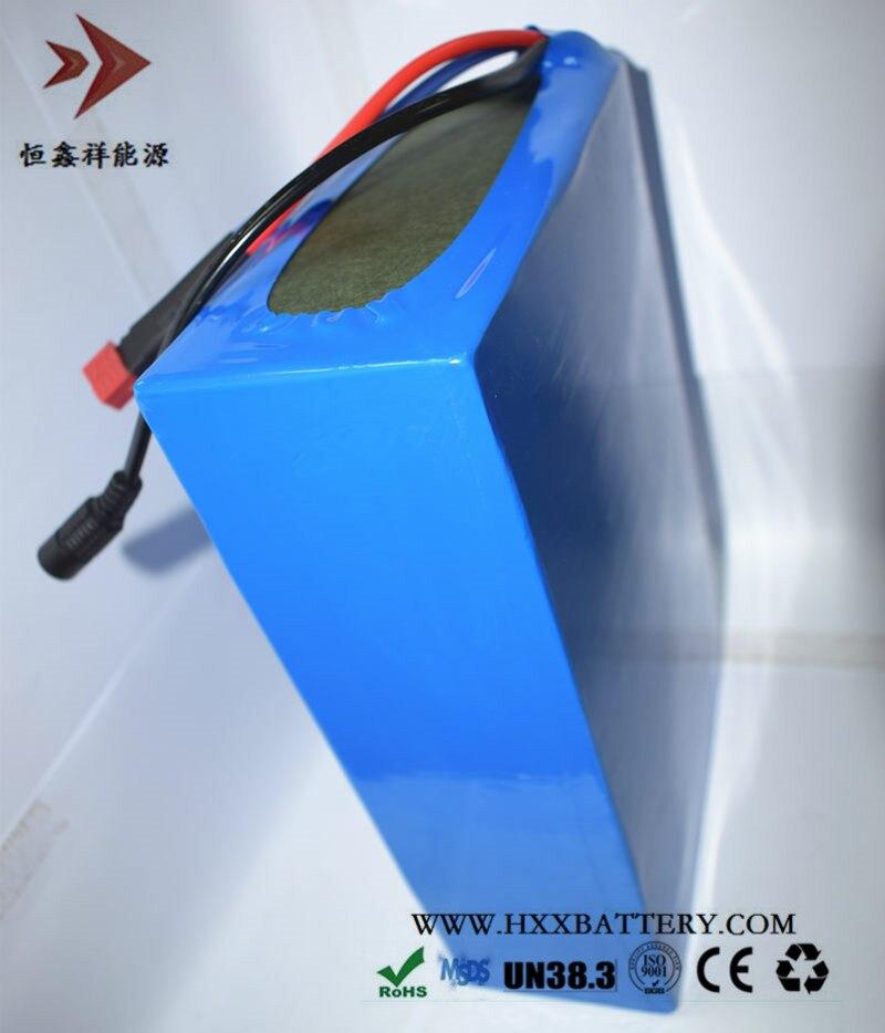 HXX 48V 20AH Lithium Battery Pack 18650 13S8P Connections for Electric Bicycle Solar Energy Storage BMS Built 20A Wholesales поиск семена тыква грибовская 10 шт