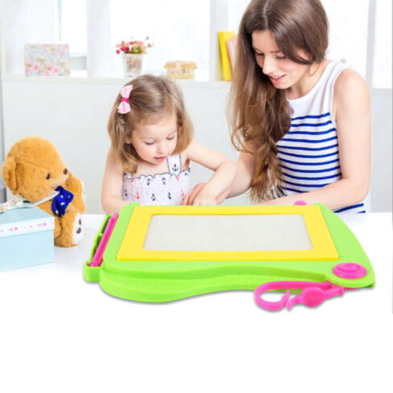 Toyzhijia 1pc Children Writing Doodle Stencil Painting Magnetic Drawing Board Set Learning & Education Toys Hobbies For Kids Smoothing Circulation And Stopping Pains Learning & Education