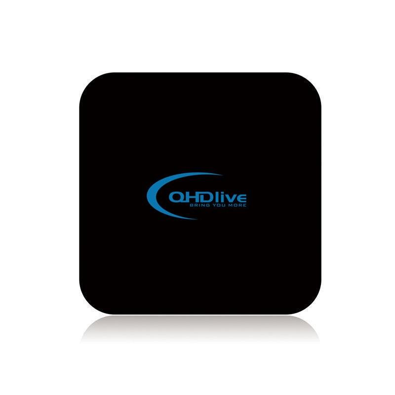 Haute qualité Europe arabe TV Box Smart Android 6.0 2000 + chaînes QHDTV Service français italie UK allemagne IPTV Box lecteur multimédia