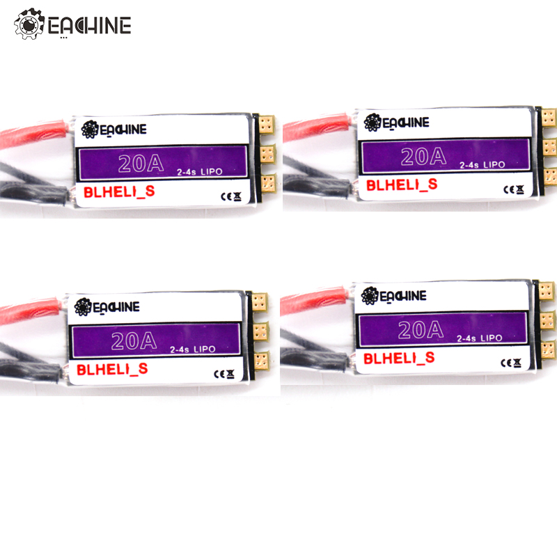 2/ 4 PCS Eachine 20A 2 4S Blheli_S Brushless ESC For Wizard X220 FPV Racing Lightweight Portable Drone Spare Part-in Parts & Accessories from Toys & Hobbies