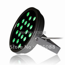 IP65 50w Edison 3-in-1 rgb led wall washer dmx lamp outdoor round led flooding light DC24V CE&ROHS good for landscape lighting
