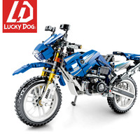 799 PCS Technic block Motorcycle Model Building Bricks Sets Compatible With LegoINGly vehicle Toys for Children Gift