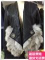 Chaquetas Cuero De Mujer Топ Моды 2017 Новых женских Clothing Show Пу Кожа Шить Куртки с Длинными рукавами Мех пальто Лацканы