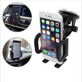 Car phone holder cup holder 47 mm-115mm Width Adjustable Windshield 360 degrees car air conditioning outlet cell phone holder