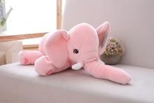 new plush elephant toy soft pink elephant gift doll about 40cm 2643