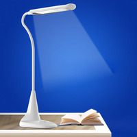 New Style LED Eye Protection Table Lamp USB Charge Bedroom Bedside Lamp Folding Touch Dimming Lamp