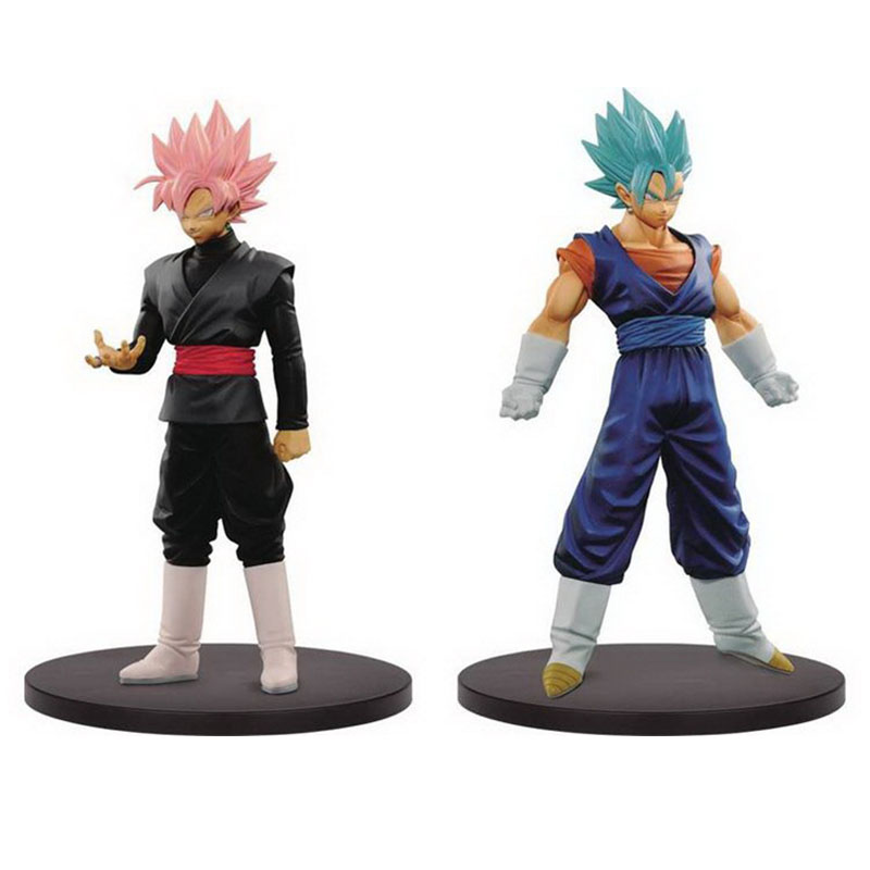 Dragonball Super DXF The Super Warriors Vol.3 God Vegetto & SSG Rose Gokou Figure Collectible Mascot Toys 100% Original chethan kumar m r rajendra prasad s and radha b n identificaction and standerdization of molecular markers