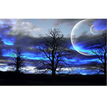 Beautiful sky diamond Embroidery diy painting mosaic diamant 3d cross stitch pictures H723