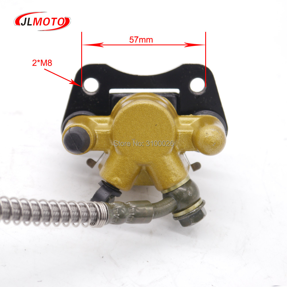 Atv Parts & Accessories Atv,rv,boat & Other Vehicle Just 1set 2 In 1 Front Handle Lever Hydraulic Disc Brake 108mm Disc Fit For Atv 50cc 110cc 49cc Bike Go Kart Buggy Utv Scooter Parts