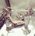 2017 shoes woman high heels flowers floral wedding shoes pumps cross dressing rhinestones stiletto shoes ladies pointed toe