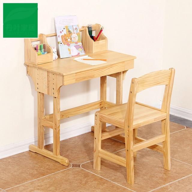 alta calidad escritorio de madera para ni os escritorio On sillas para escritorio para ninos