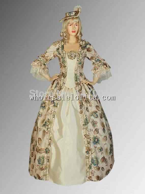Индивидуальный заказ Ренессанс средневековые цветочный шар костюм платье custom