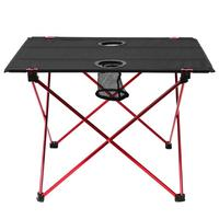 Portable Lightweight Outdoors Table For Camping Table Aluminium Alloy Picnic BBQ Folding Table Outdoor Tavel