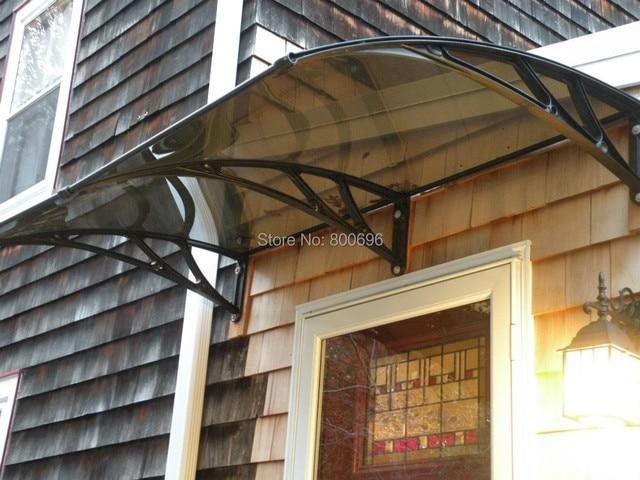 YP80100 80x100cm 315x39in FREESKY Decorative Window AwningPolycarbonate Door CanopyGarden Rain Shelter