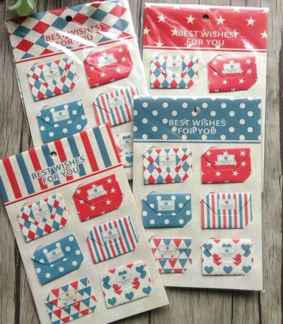 1pack/lot New Vintage mini Envelope designs