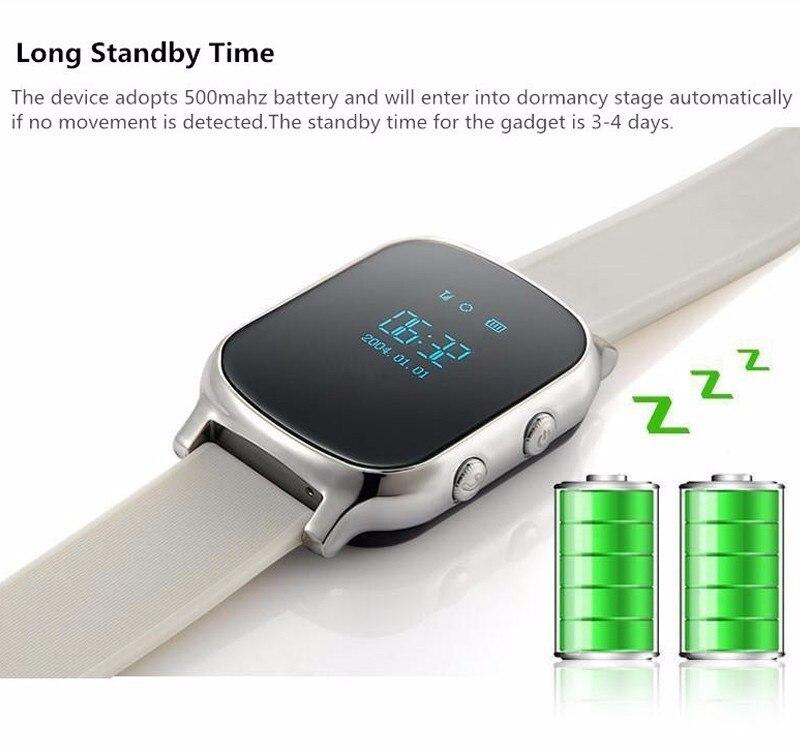 79164f2c3db T58 Crianças GPS Relógio Inteligente Chamada SOS Localizador ...