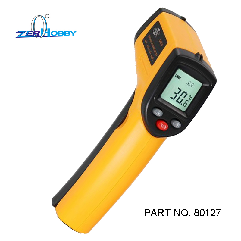 Digital Infrared Thermometer Double Laser High Precision IR temperature gauge Tester