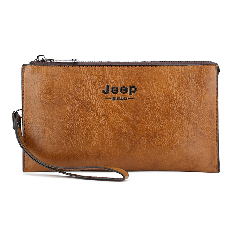 Famous Brand Large Capacity PU Leather Man Wallet