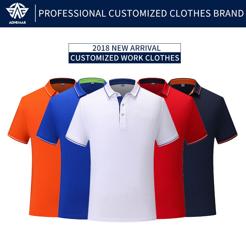 Adhemar breathable golf shirts for male/female fashionable polo shirt with collar for business and sportsAdhemar breathable golf shirts for male/female fashionable polo shirt with collar for business and sports