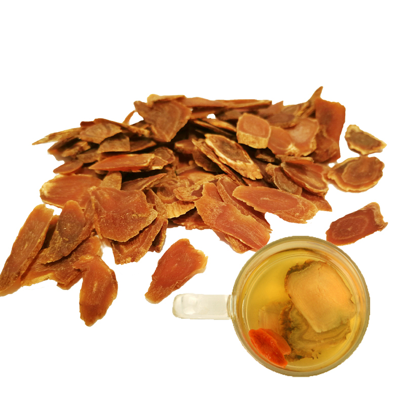 Dried Korean Red Ginseng Root Slices 6 Years Root