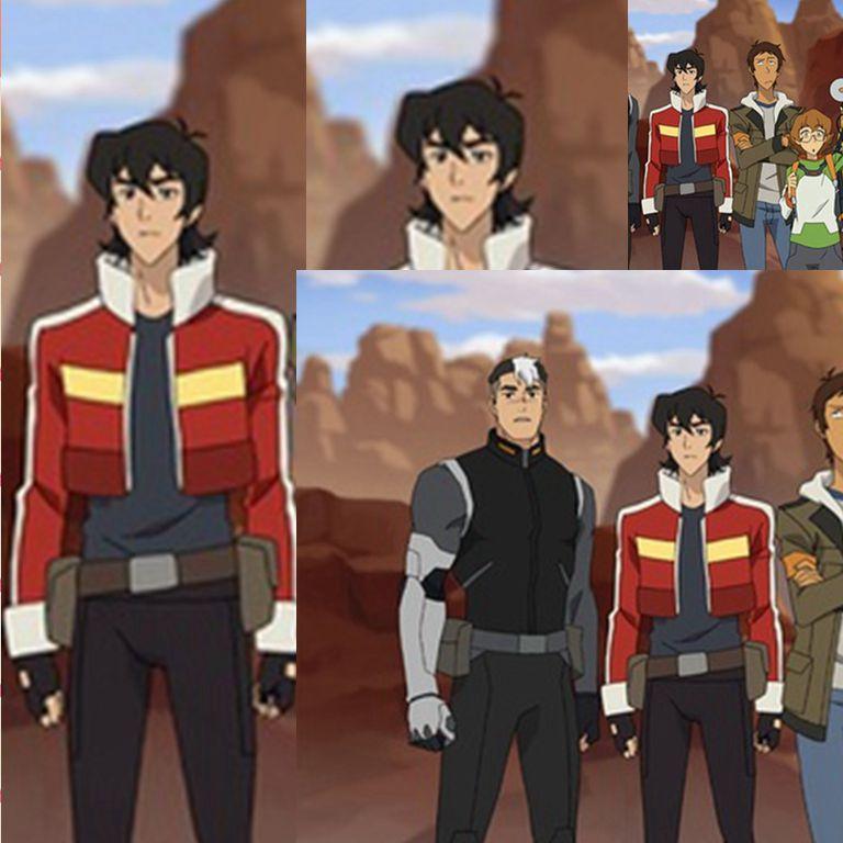 Legendary Defender of the Universe Keith Akira Kogane Jacket Costume Cosplay