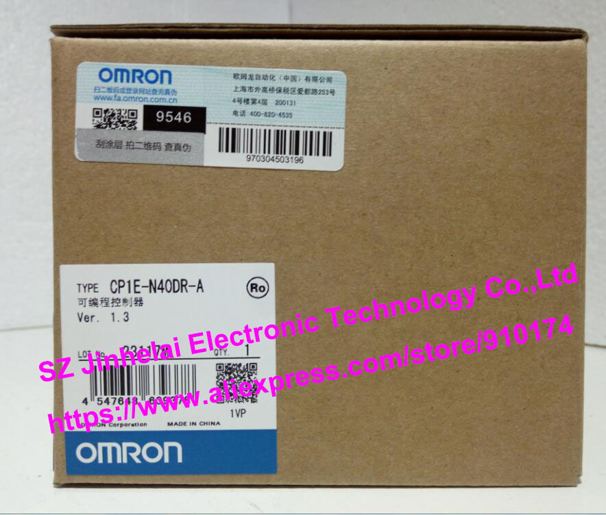 100% New and original  CP1E-N40DR-A  OMRON PLC [zob] new original omron omron beam photoelectric switch e3jk tr12 c 2m 2pcs lot
