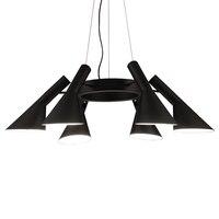 LED Nordic Retro Fixtures Modern living room hanging lights Restaurant Lamps bedroom Lighting Bar Cafe Chandeliers-בנברשות מתוך פנסים ותאורה באתר