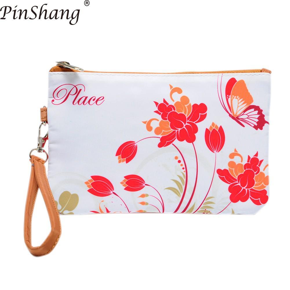 Pinshang Fashion Handbag Clutch-Bag Elegant 3d-Printing Zipper Large-Capacity 40 Envelope-Package