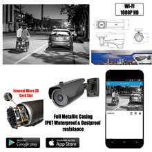 IP67 Waterproof IP Camera 1080P 2 Mega Pixel HD Smart Home Security Bullet IP Security Survelliance Camera