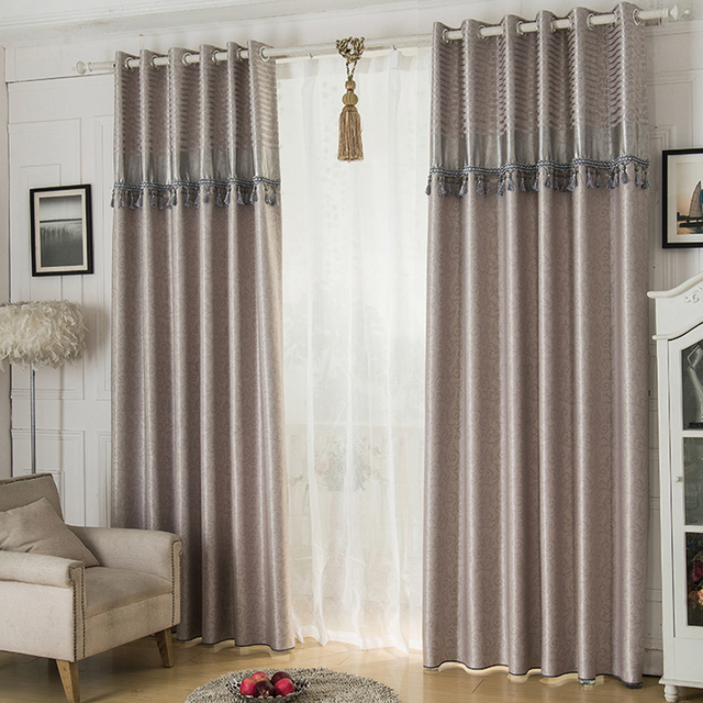 2016 Cafe Kitchen Curtains Voile Window Blind Curtain Owl: Aliexpress.com : Buy 2016 Jacquard Shade Window Blackout Curtain Fabric Modern Curtains For