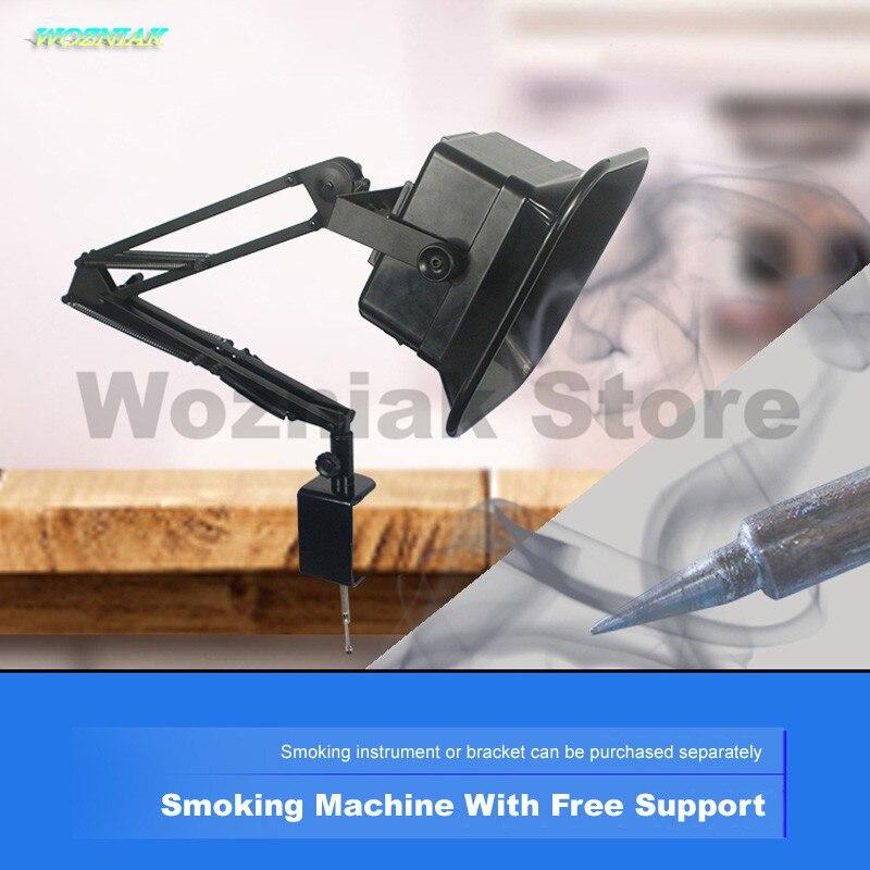 Wozniak grado Professionale manutenzione elettronica banco di lavoro di aspirazione fumo Ventilazione ventilatore Di Scarico ventilatore Saldatura strumento di fumare