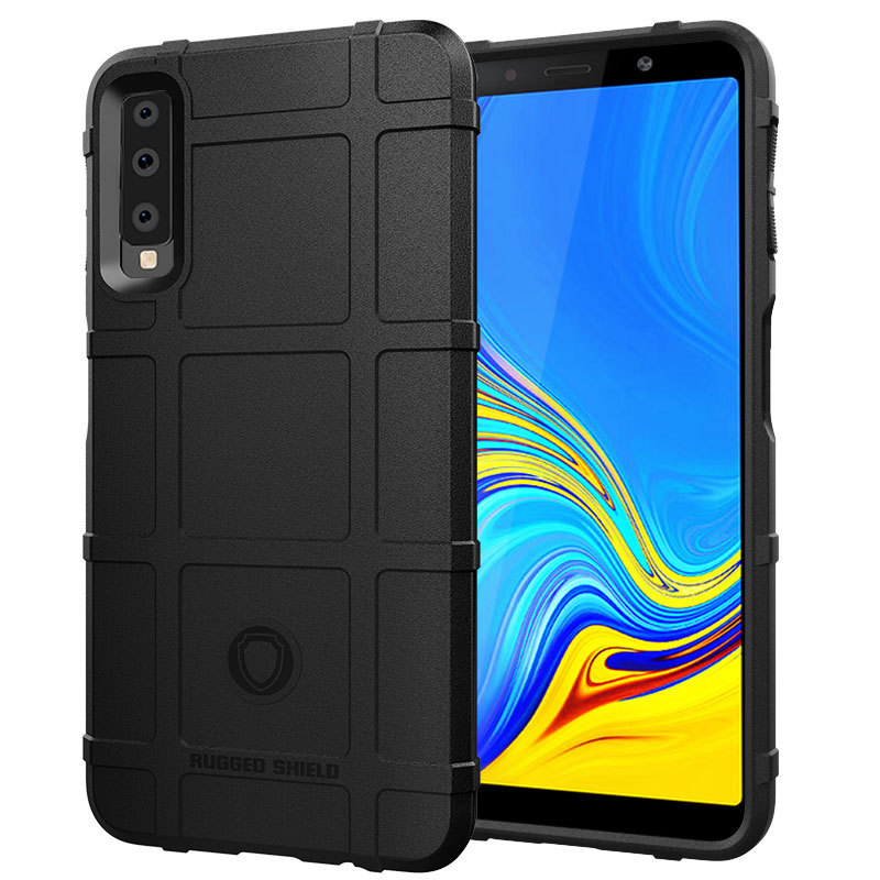 A7 2018 Armor Anti-shock Cases for Samsung Galaxy A7 2018 A750 Case 6.0'' Cover Soft Bumper for Galaxy A750 Coque Funda Caphina