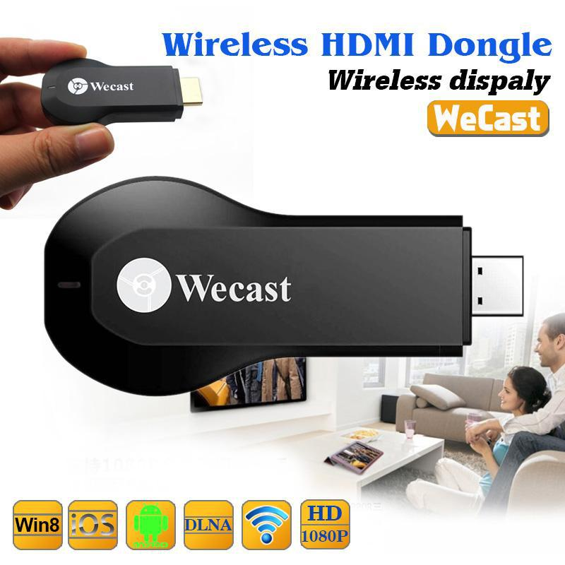 TV Stick Wireless WIFI Hdmi Dongle TV Display Miracast/DLNA wecast HD 1080P Streamer audio& video transmission MIRROR screen