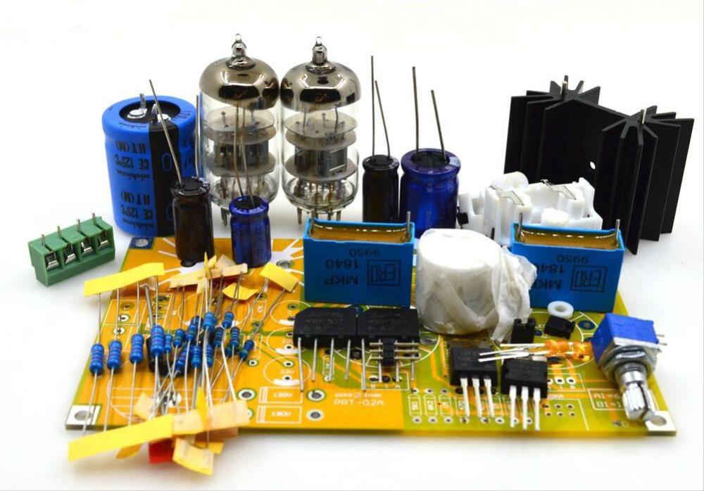 DIY PRT-02A 6N2 Tube Preamplifier Kit Base On AUDIO NOTE M7 Preamp