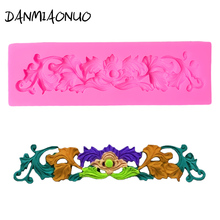 3D Lace Silicone Mold Wedding Cake Stand Baking Fondant Decorating Tools Leaf Flower Chocolate Molds