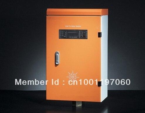 100-500VDC input voltage MPPT function RS232 MC4 connector 6000W Solar / Wind Hybridize Grid Tie Solar Inverter