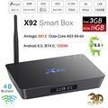 3 GB de RAM 16 GB Caixa de TV Android 6.0X92 Inteligente Mini PC Amlogic S912 Octa Núcleo 4 K Media Player 3D KODI Bluetooth 5.8G Wifi M9S pro 32G