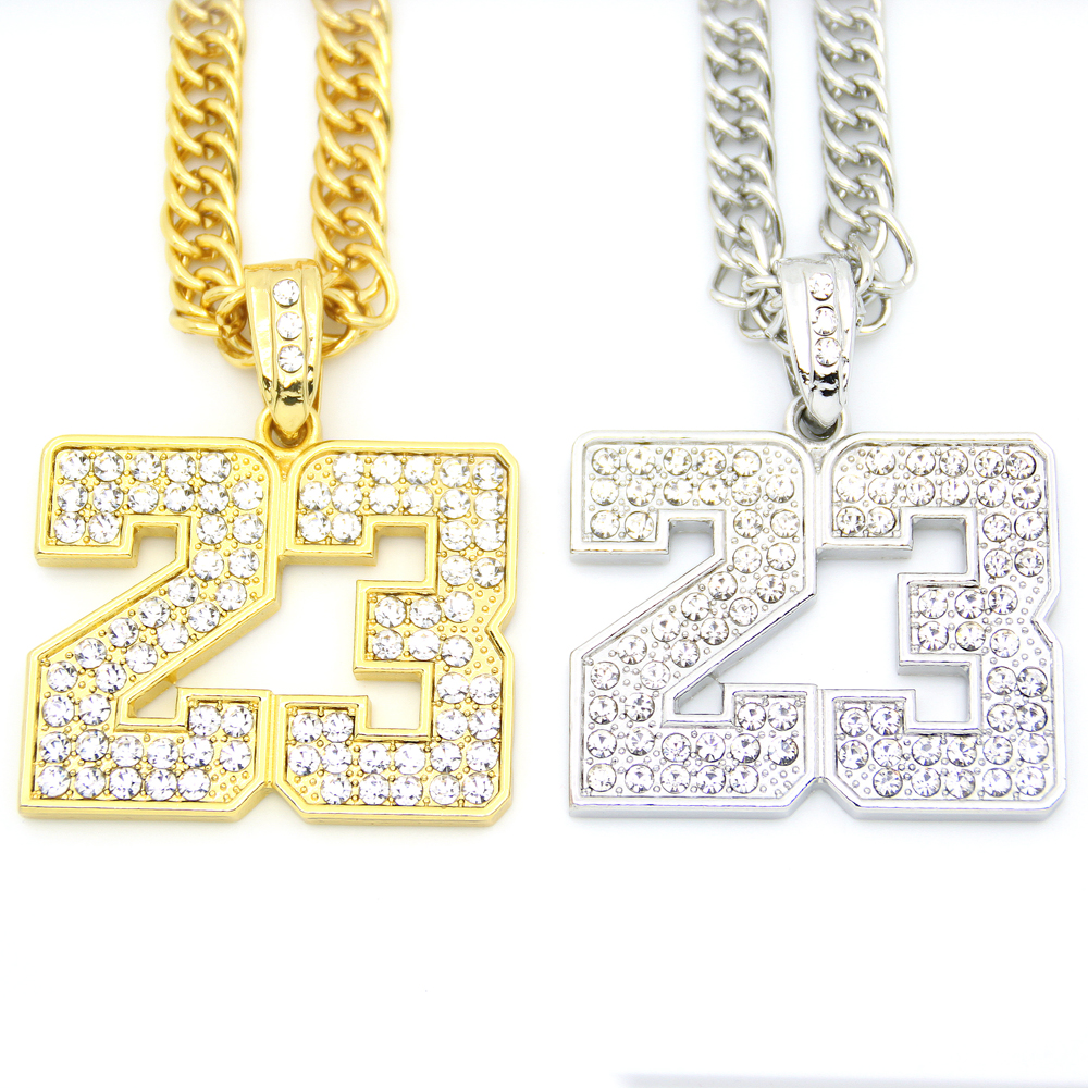 Iced out crystal men jewelry sport number pendants long chains hip iced out crystal men jewelry sport number pendants long chains hip hop necklace n547 in pendant necklaces from jewelry accessories on aliexpress aloadofball Choice Image