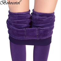 Step On The Foot Thick Pearl Fleece Winter Plus Velvet Thickening Legging Autumn And Winter Women