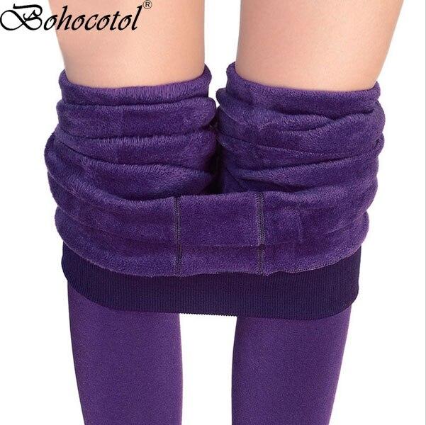 Passo Sul Piede Perla di Spessore In Pile Inverno Più Velluto ispessimento Legging Autunno E di Inverno delle Donne di Un Pezzo Pantaloni Pantaloni Caldi pantaloni