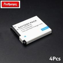 De litio de 3,7 V 1000mAh baterías recargables SLR NB-8L de iones de litio de Powershot A3300 A3200 es A1200 A3000 para Canon batería de cámara