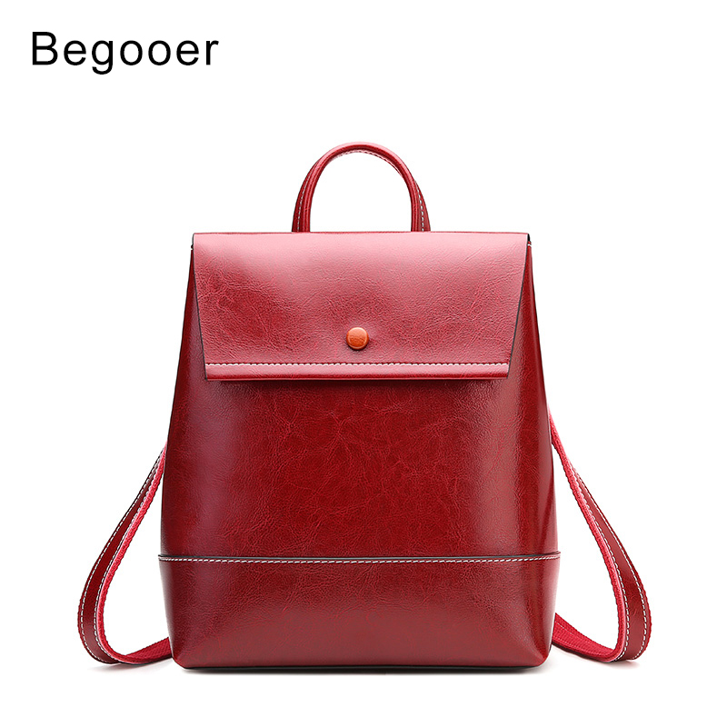 2019 Women Backpack Genuine Leather Vintage Backpack Ladies Small Backpacks for Women School Bags for Teenage Girls sac a dos2019 Women Backpack Genuine Leather Vintage Backpack Ladies Small Backpacks for Women School Bags for Teenage Girls sac a dos